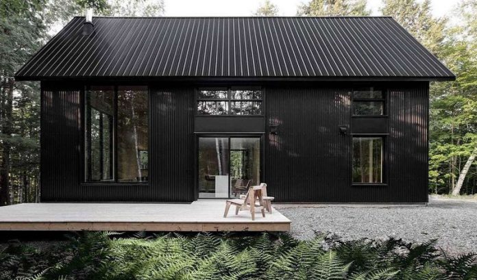 Scandinavian home exterior paint ideas