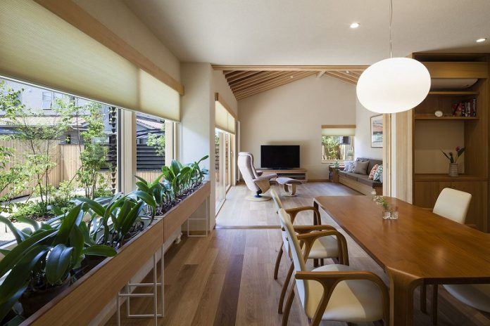 modern Japanese dining room design