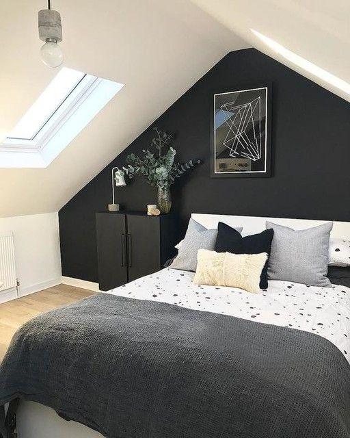minimalist loft bedroom style