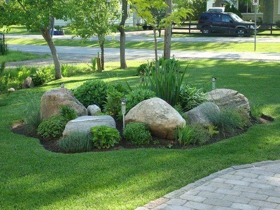 rock garden landscaping