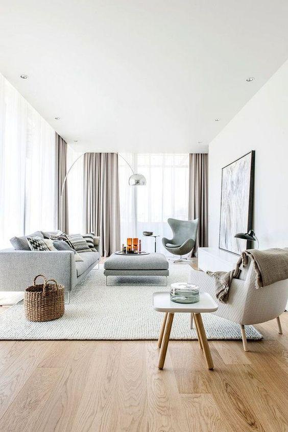 white Scandinavian interior feel spacious