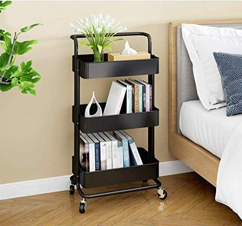 tips for small bedroom decoration with storage cart