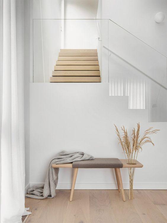 Scandinavian wooden flooring style