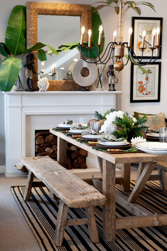 distressed furniture for quirky decoration