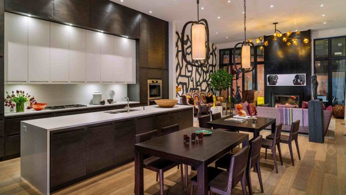 sleek and manly masculine kitchen decor ideas