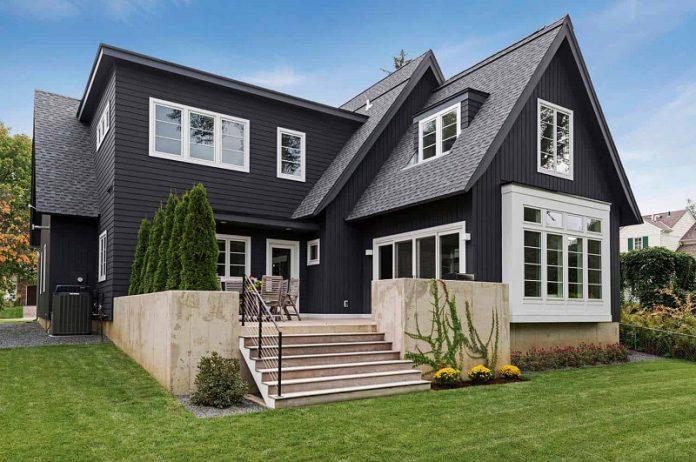 Scandinavian exterior home concept