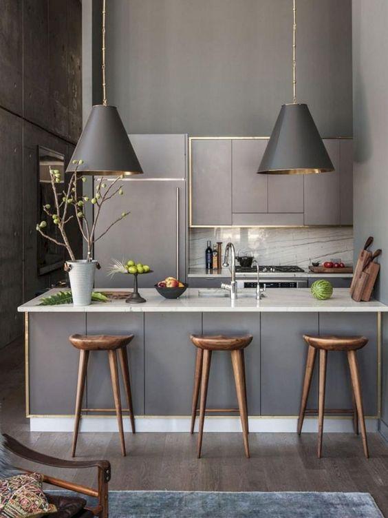 masculine kitchen idea
