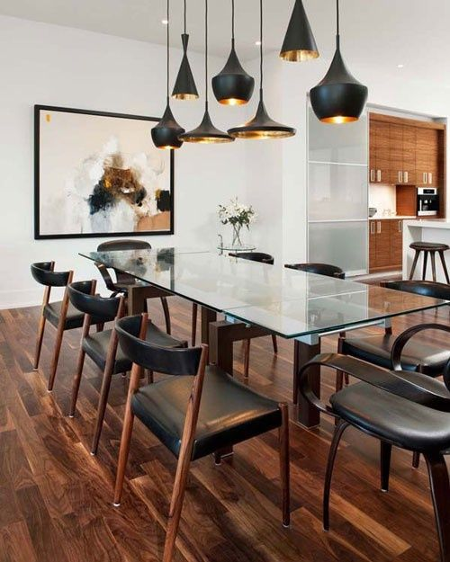 masculine dining room style