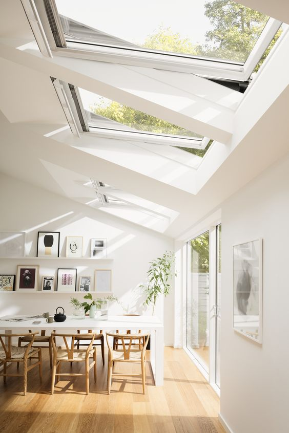 roof window installation to support natural lighting