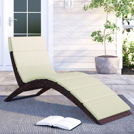 sun lounger for outdoor furniture