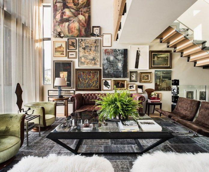 masculine living room wall decor ideas