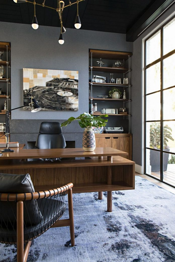manly home office design ideas