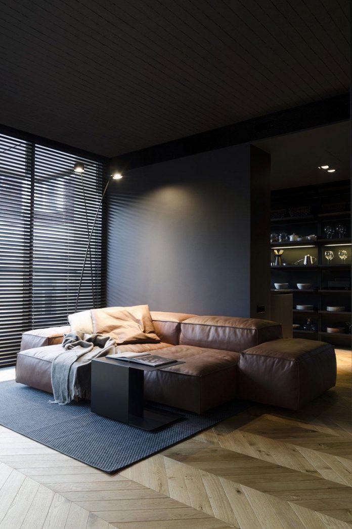 warm masculine bedroom flooring styles