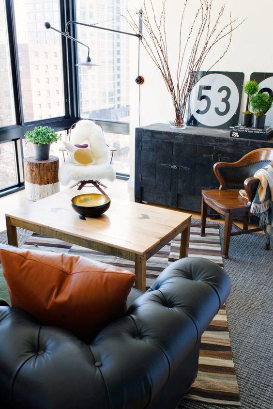 masculine living room decor ideas