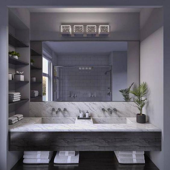 aesthetic manly bathroom design