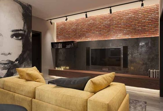 sophisticated manly living room decor