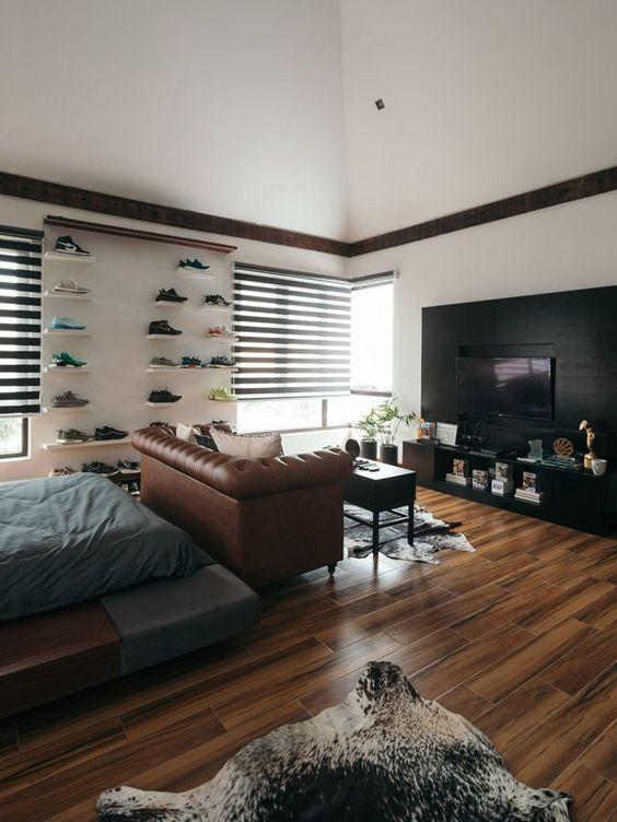 outstanding wall decor bachelor pad