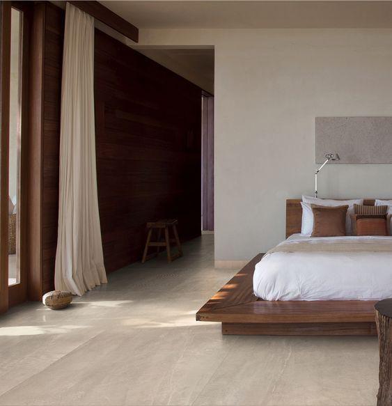 sleek and stylish Japandi bedroom design