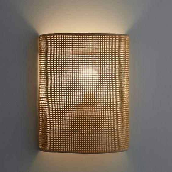 Japandi wall lamp style