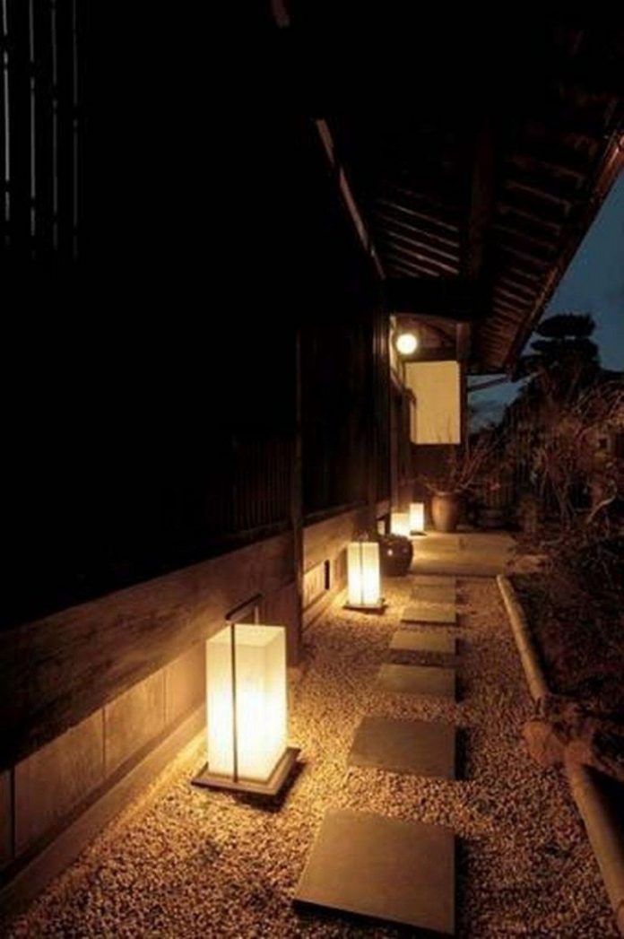 Japanese garden lighting ideas