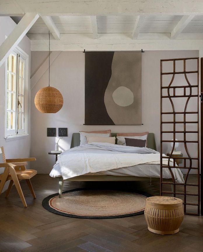 Japandi bedroom furniture decor ideas