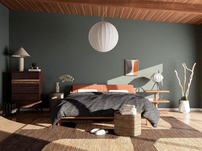 Japandi style bedroom decor ideas