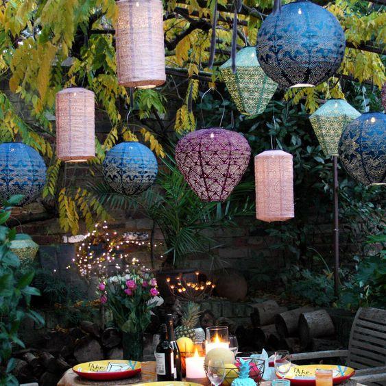 Hikari solar lanterns style