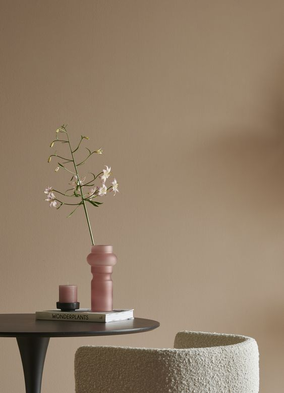 neutral color tone in Japandi interior style