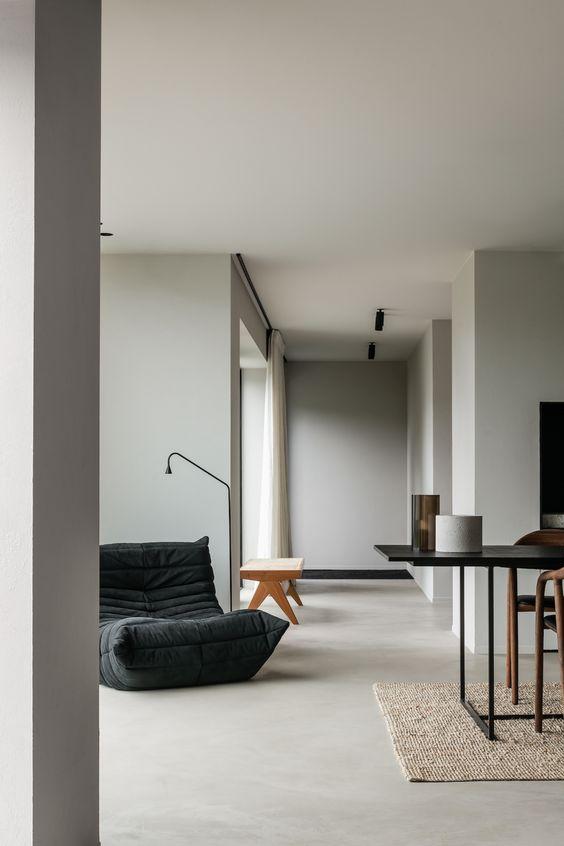 minimalist aesthetic Japandi decor
