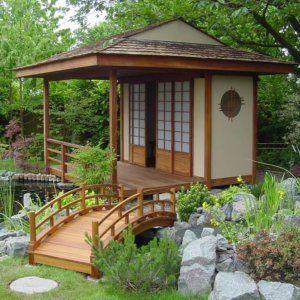 Japanese tea house design