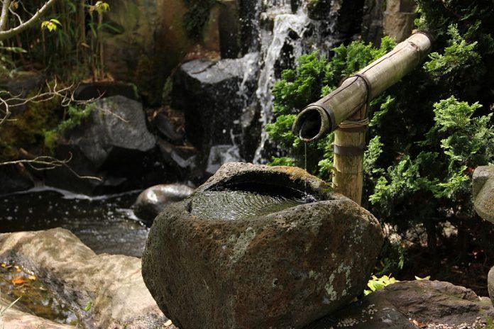 water feature essential in Japanese garden