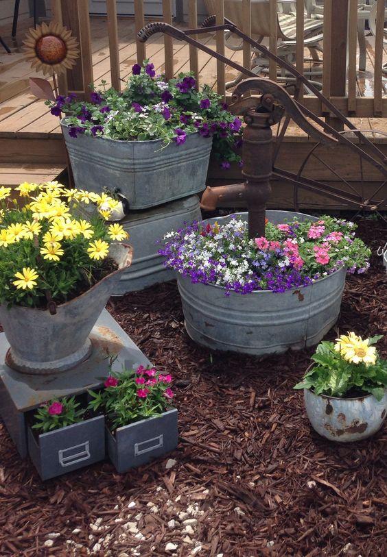 happy summer front yard decor ideas