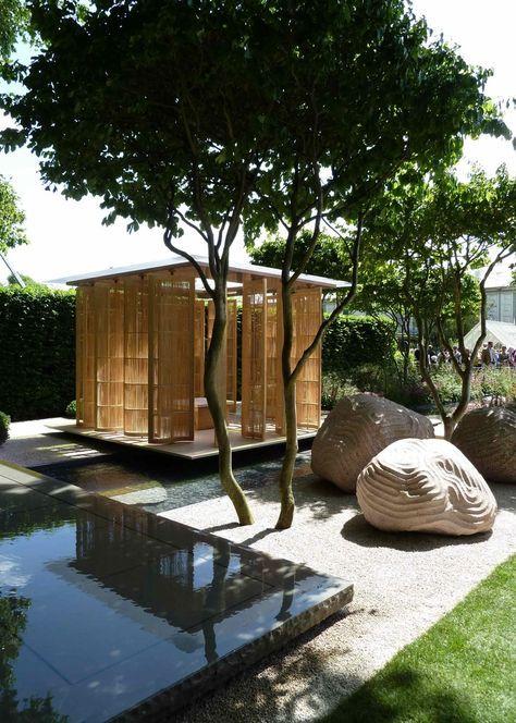 japanese garden with excellence craftmanship