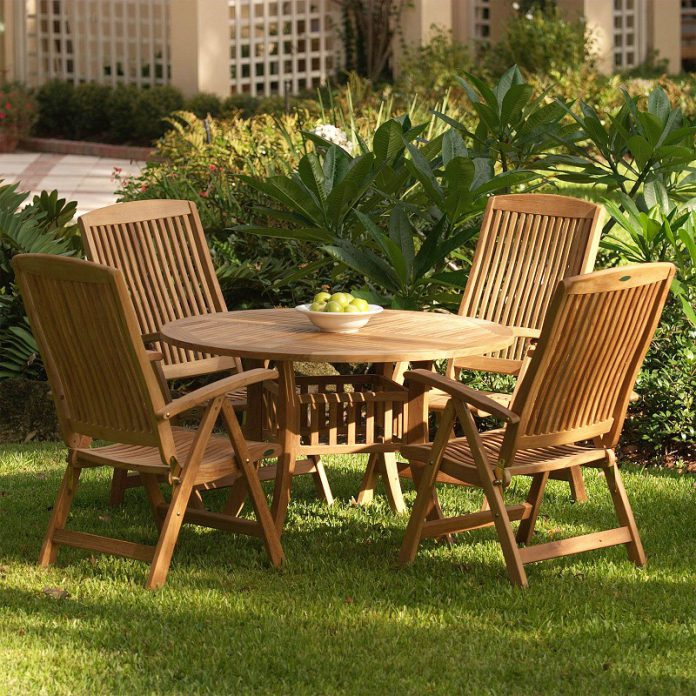 Tropical outdoor furniture sets to decorate your patio